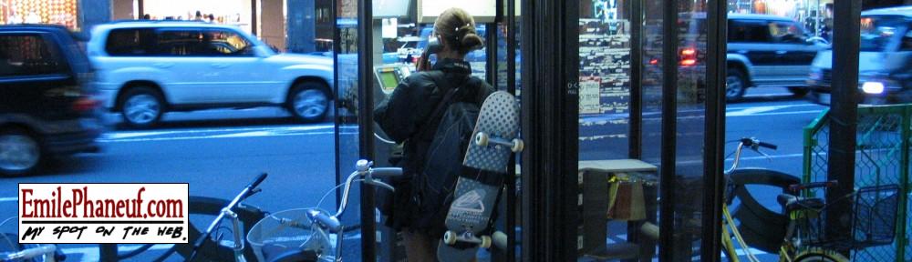 Kyoto skateboarder girl