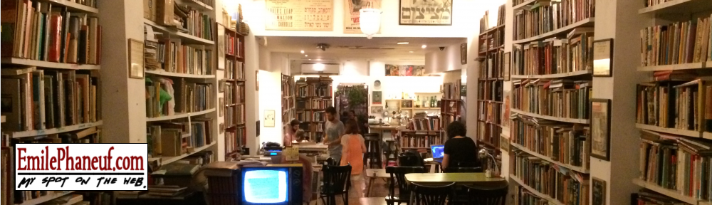Tel Aviv library coffee shop & bar - EmilePhaneuf.com